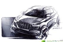 현대차, 엔트리 SUV '베뉴' 렌더링 이미지 공개