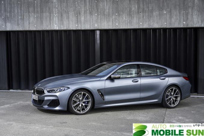 럭셔리 스포츠카 'BMW 뉴 8시리즈' 출시...1억3,500만원